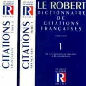 Le Dictionnaire Des Citations Francaises T.2 ; 20e Edition - Couverture - Format classique