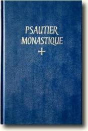 Psautier monastique - Couverture - Format classique