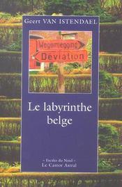 Labyrinthe Belge (Le ) - Intérieur - Format classique