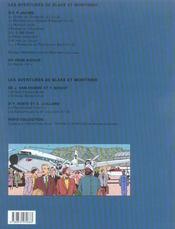 Blake Et Mortimer T.17 ; Les Sarcophages Du 6e Continent T.2 - 4ème de couverture - Format classique