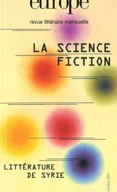 Vente  Europe la science fiction n 870  - Anonyme