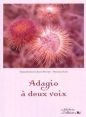 Adagio à deux voix - Couverture - Format classique