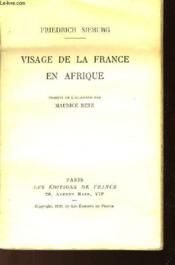 Visage De La France En Afrique - Couverture - Format classique