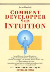Comment Developper Son Intuition - Intérieur - Format classique