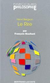 Le rire, Henri Bergson - Couverture - Format classique