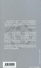 Le rire, Henri Bergson - 4ème de couverture - Format classique