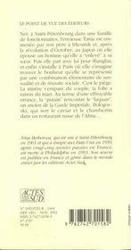 Le Laquais Et La Putain - 4ème de couverture - Format classique