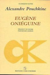 Eugene Oneguine - Couverture - Format classique