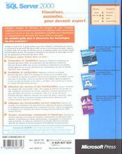 Microsoft sql server 2000 au quotidien expert - 4ème de couverture - Format classique