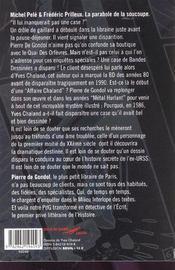 La Parabole De La Soucoupe - 4ème de couverture - Format classique