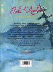 Le Ranch De La Pleine Lune T.14 ; Etoile D'Arabie - 4ème de couverture - Format classique