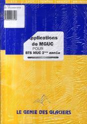 Applications de management et gestion des unités commerciales pour BTS, MUC, 2ème année - Intérieur - Format classique