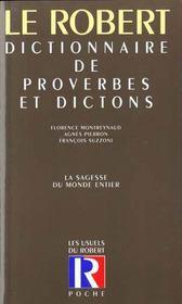 Le Dictionnaire Des Proverbes Et Dictons ; 20e Edition - Intérieur - Format classique
