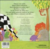 Elmer joue à cache-cache - 4ème de couverture - Format classique