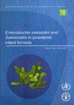 Enterobacter sakazakii & salmonella in powdered infant formula. meeting report microbiological risk - Couverture - Format classique