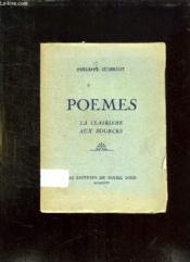 Poemes. La Clairiere Aux Sources. - Couverture - Format classique