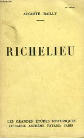 Richelieu. - Couverture - Format classique