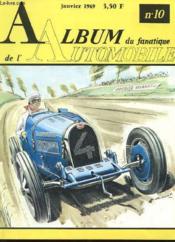 Album Du Fanatique De L'Automobile N° 10 - Couverture - Format classique