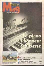 Yonn Mag N°778 du 25/08/2001 - Couverture - Format classique