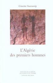 L'algerie des premiers hommes - Intérieur - Format classique