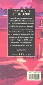 Les corbeaux de fourlaud - 4ème de couverture - Format classique