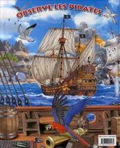 Observe les pirates et trouve l'intrus - 4ème de couverture - Format classique