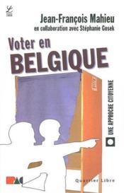 Voter en Belgique une approche citoyenne - Couverture - Format classique