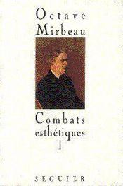 Combats Esthetiques T.1 - Couverture - Format classique