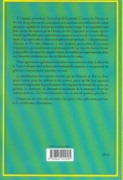 Chi Kung 1 - La Chemise De Fer - 4ème de couverture - Format classique