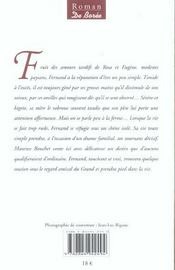 Chene Foudroye (Le) - 4ème de couverture - Format classique
