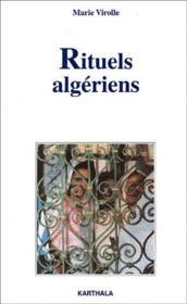 Rituels algériens - Couverture - Format classique