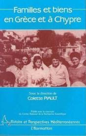 Familles et biens en Grèce et à Chypre - Couverture - Format classique