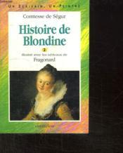 Histoire De Blondine T.2 (circonflexe) - Couverture - Format classique
