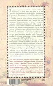 La guerre de la noix de muscade - 4ème de couverture - Format classique