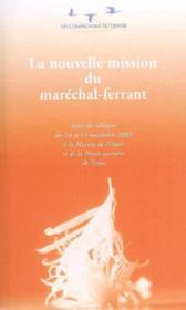 Nouvelle mission du maréchal ferrant - Couverture - Format classique
