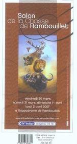 Le bottin gourmand de la chasse (édition 2006-2007) - 4ème de couverture - Format classique