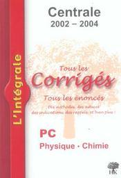 Centrale Pc 2002-2004 - Intérieur - Format classique
