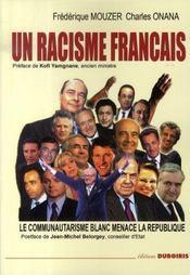 Un racisme français - Intérieur - Format classique