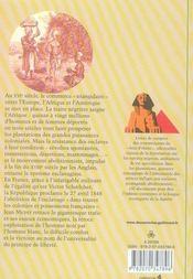 Esclaves et négriers - 4ème de couverture - Format classique