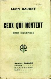 Ceux Qui Montent. - Couverture - Format classique
