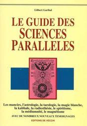 Le Guide Des Sciences Paralleles - Intérieur - Format classique