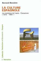 La culture espagnole - Intérieur - Format classique
