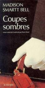 Coupes Sombres - Couverture - Format classique