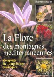 La flore des montagnes mediterraneennes - Intérieur - Format classique
