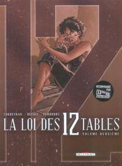 La loi des 12 tables t.2 - Intérieur - Format classique