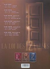 La loi des 12 tables t.2 - 4ème de couverture - Format classique