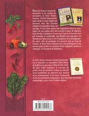 Les Bons Legumes Du Monastere - 4ème de couverture - Format classique