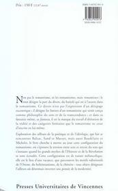 Romanticoco ; fantaisie, chimère et mélancolie 1830-1860 - 4ème de couverture - Format classique