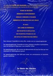 Outils de gestion commerciale ; pochette de l'élève - 4ème de couverture - Format classique