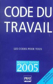 Code Du Travail - Intérieur - Format classique